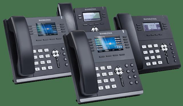 Sangoma S-Series phone bundle